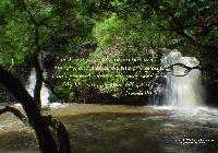 "Christian Wallpaper: ""Living Water"""